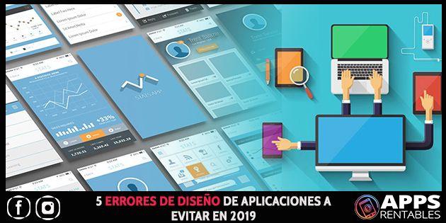 Errores de diseño de aplicaciones