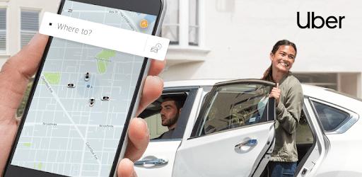 Ejemplo de la imagen destacada de la app uber