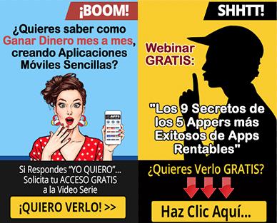 Banners Apps rentables afiliados