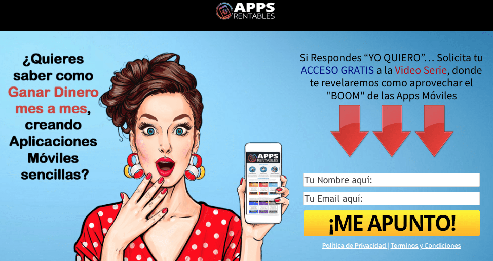 Lead Magnet Video Serie de Apps Rentables