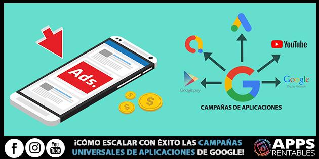 Como escalar con exito las campanñas de apps de google ads