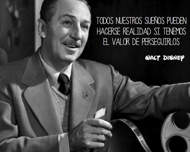 Frase de Walt Disney
