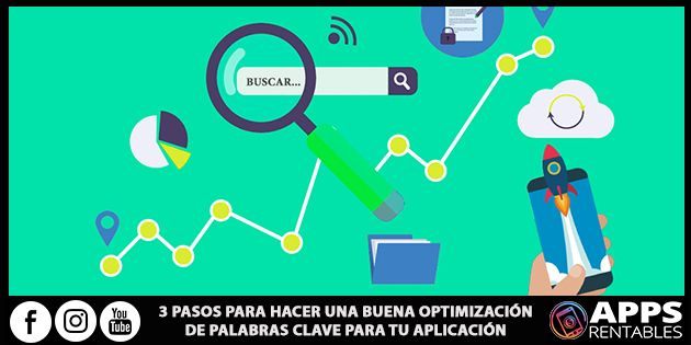 Como optimizar palabras clave a tus Apps