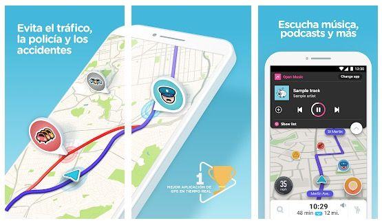 Un buen ejemplo es la App de Wase