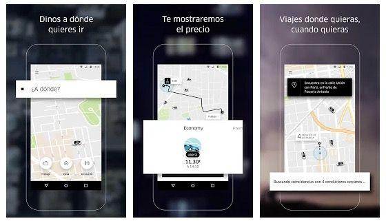 Un ejemplo de Uber contando historias