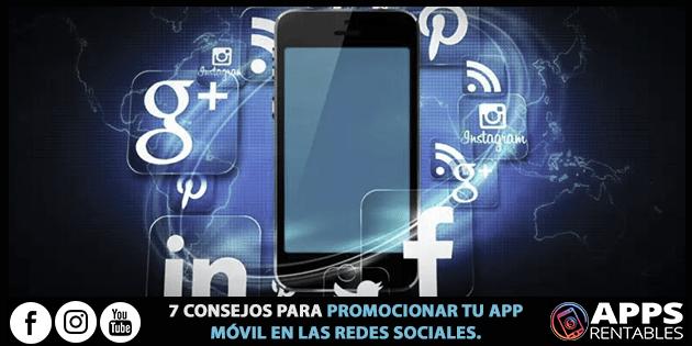 Como Promover tu aplicación móvil en las redes sociales