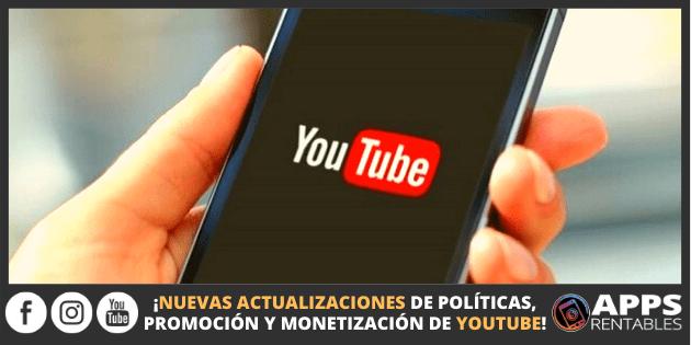 Nuevas actualizaciones de YouTube