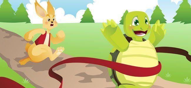 fábula de la tortuga contra la liebre para los negocios