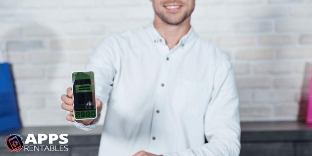 Clasificación y reseña en la tienda de app